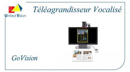 Govision Vocalisé - Téléagrandisseur