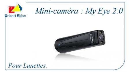 My Eye 2.0 : Mini-caméra pour lunettes