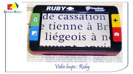 Ruby - Vidéo Loupe