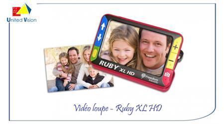 Ruby - video loupe XL HD