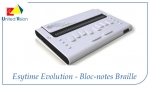 Photo_Esytime Evolution - Bloc-Notes Braille 32 caractères