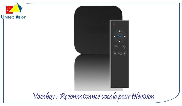 nouveaut vocabox reconnaissance vocale pour t l vision. Black Bedroom Furniture Sets. Home Design Ideas